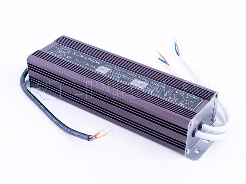 150 Вт/ 12.5 A/ 12 В/ Блок питания герметичный LED SWG/ IP 67