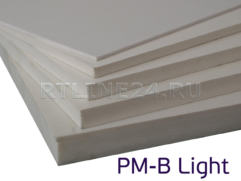 4 мм / 2,05 x 3,05 м / PM-B Light/ лист ПВХ